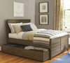 Soho Kids Room Trundle Bed with Storage