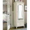 Rosalie Kids Bedroom Armoire - White   Zin Home
