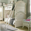 Rosalie Kids Twin over Full Size Bunk Bed - White