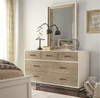 #MyRoom Modern Kids 5 Drawers Dresser- White & Gray