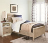 #MyRoom Modern Kids Twin Bed with Reading Light - Gray