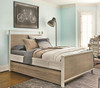 #MyRoom Modern Kids Twin Panel Bed - Gray & White