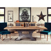 Steampunk Industrial Steel + Wood Dining Table 90""