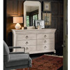 Belgian Cottage Carved Bedrom Dresser Elan Mirror