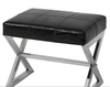 Remington Croc Leather Stool
