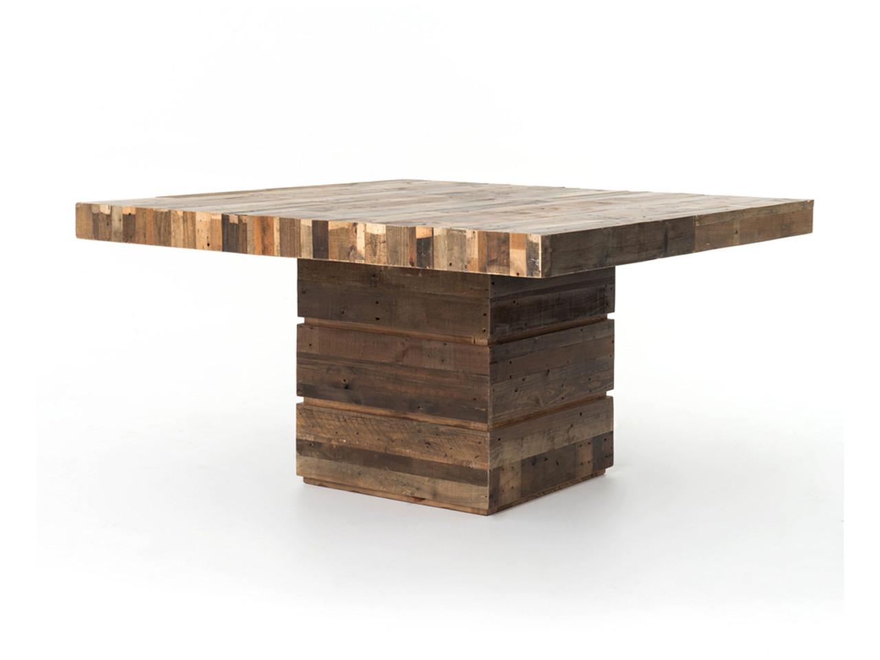 Angora 58 square dining table