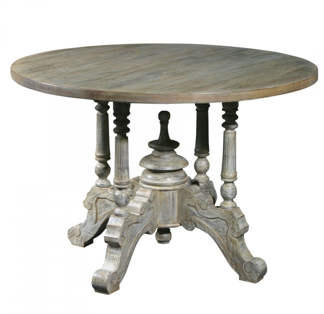 hayden round pedestal dining table 43 quot  18th century farmhouse round table and chairs farmhouse round table and chairs