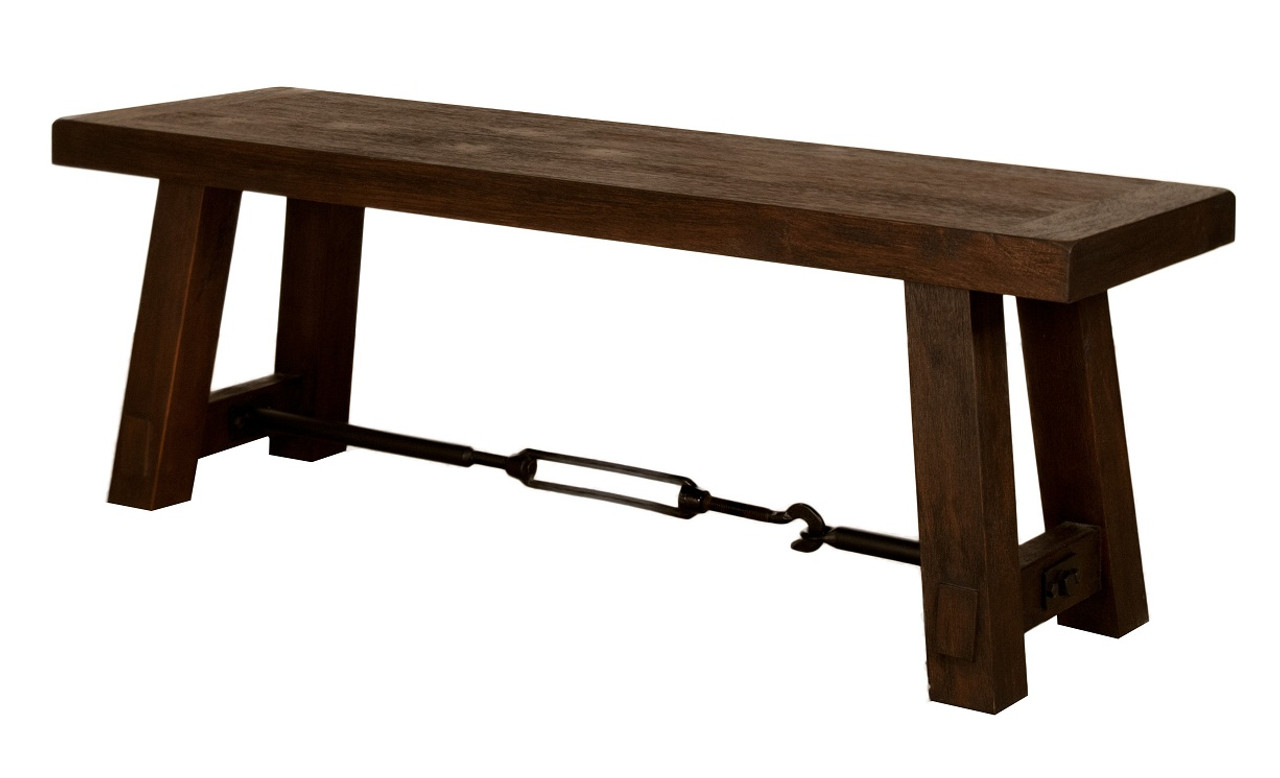 Techstyle Patchwork Upholstered Bedroom Bench Reviews: Industrial Style Dining Bench