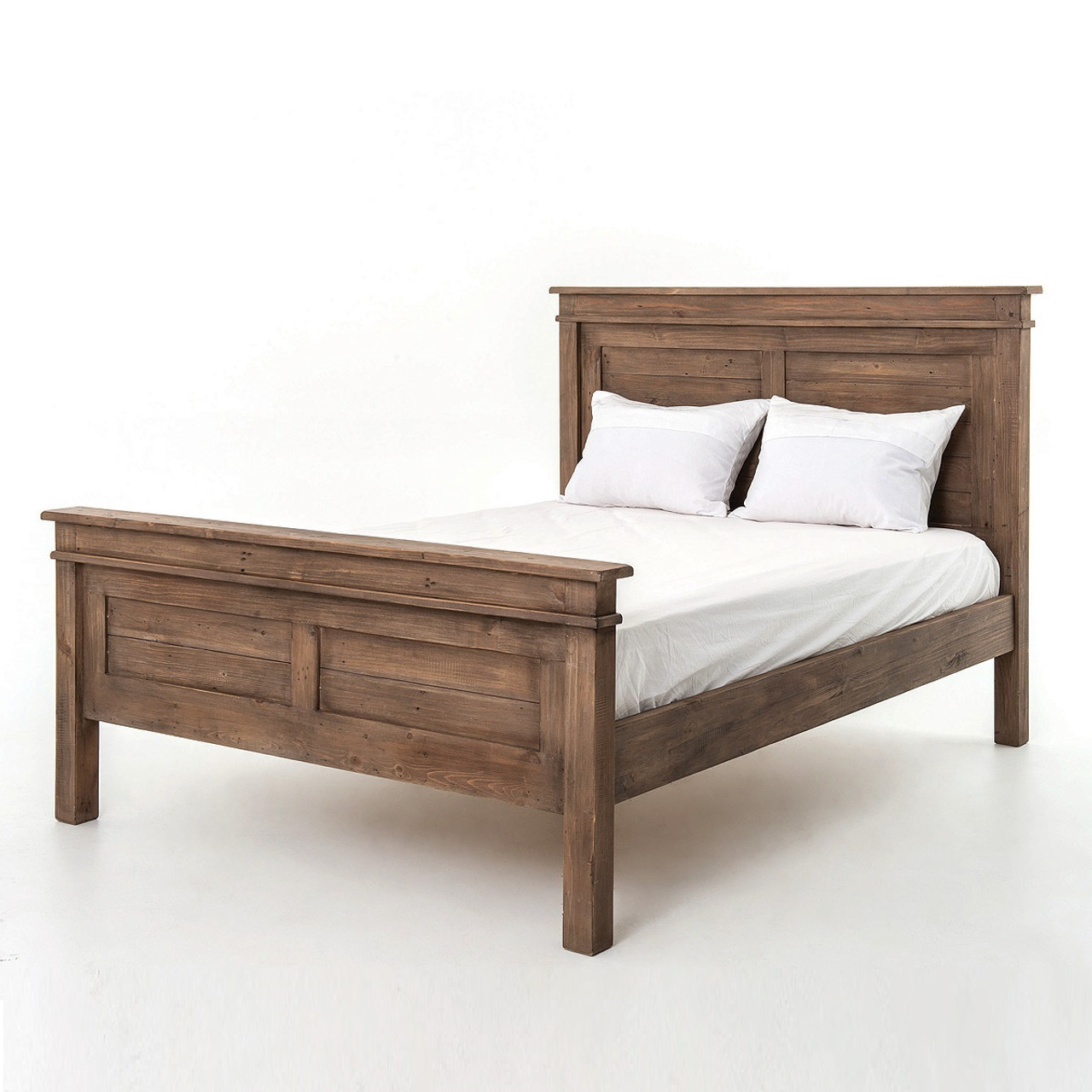 Charmant Sierra Reclaimed Wood King Size Platform Bed