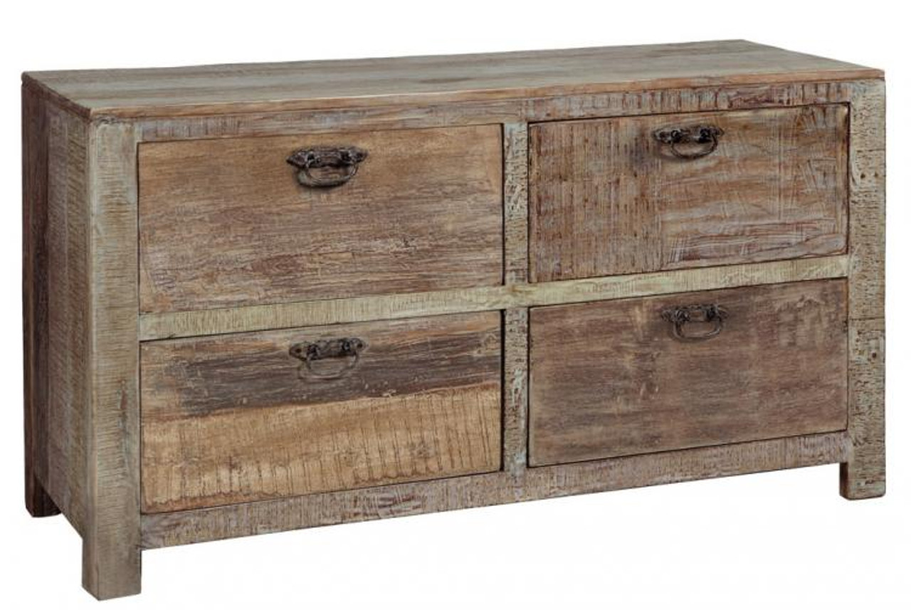4 drawer wood dresser Hampton Reclaimed Wood 4 Drawer Dresser | Zin Home 4 drawer wood dresser