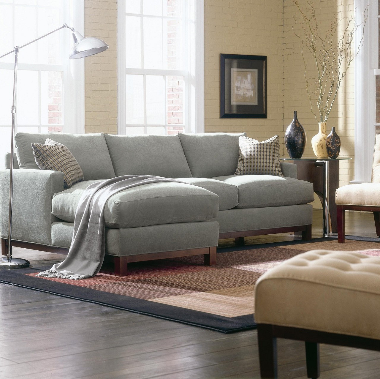 Attrayant Sullivan Mini Mod Sectional Sofa