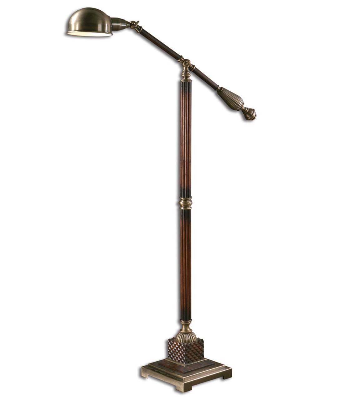 Pharmacy Task Floor Lamp
