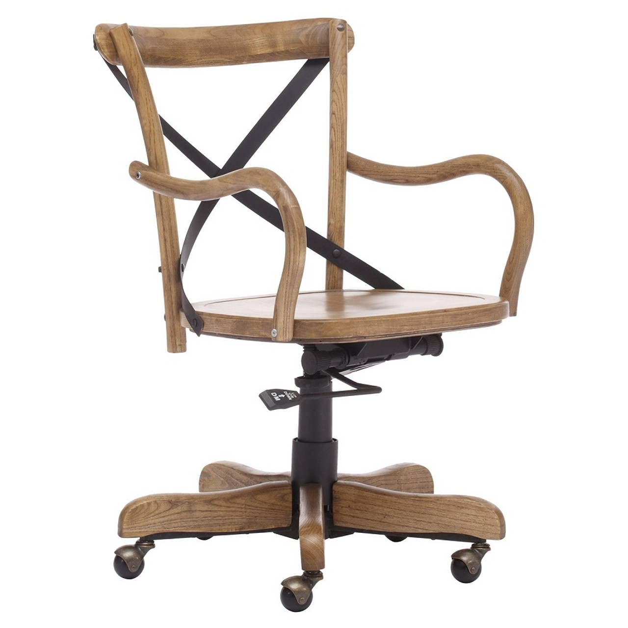 Union Square Antique Natural Office Chair Zin Home