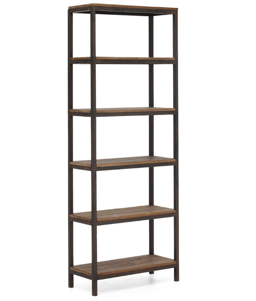 bookshelf w metal store shelves solid browse bookcases ihrm wood media simien m furnishings product bookcase frame prm reside