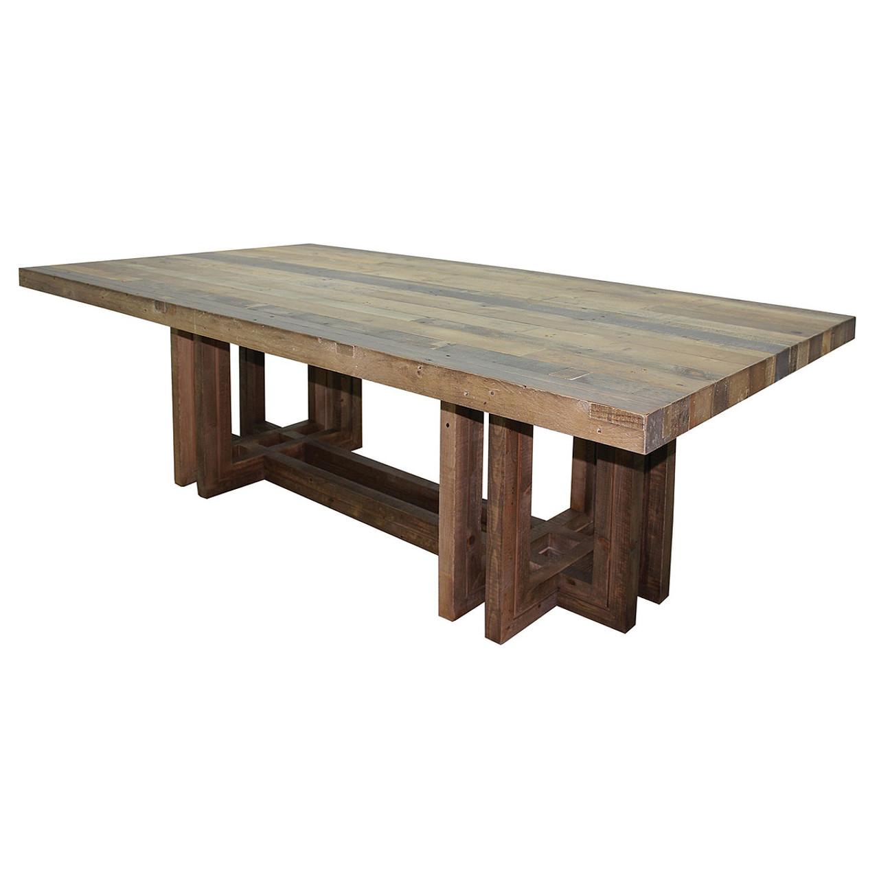 reclaimed wood furniture modern. Angora Dining Table 95\ Reclaimed Wood Furniture Modern G