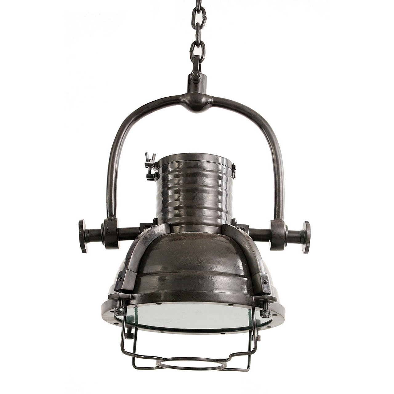 Industrial Dining Room Table Industrial Factory Pendant Light In Bronze Finish Zin Home