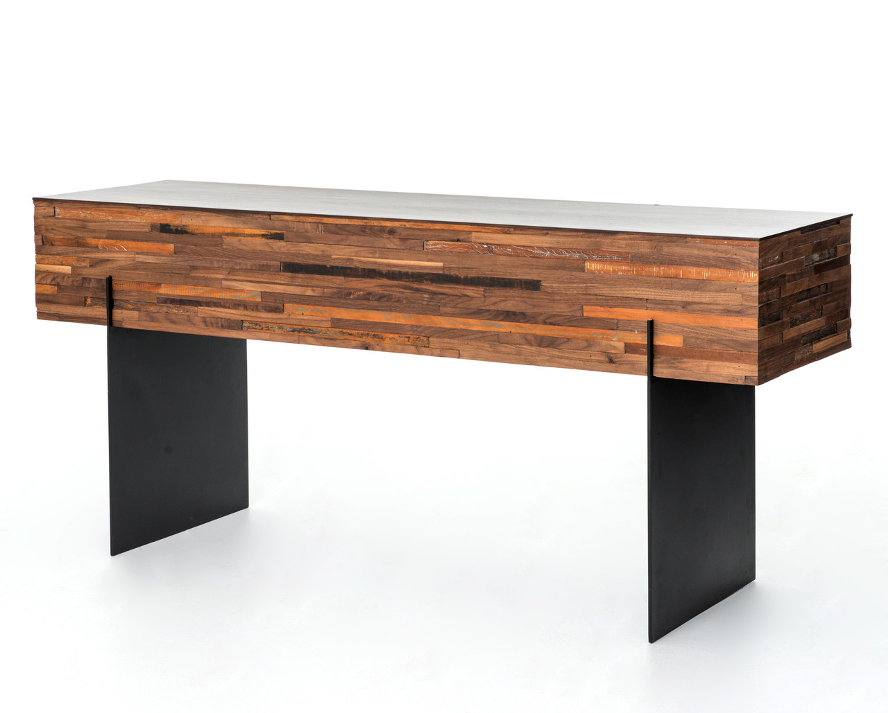 Landon Mixed Wood Console Table