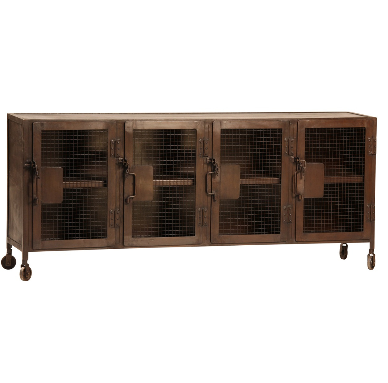 Sideboard Industrial vintage industrial iron sideboard console zin home