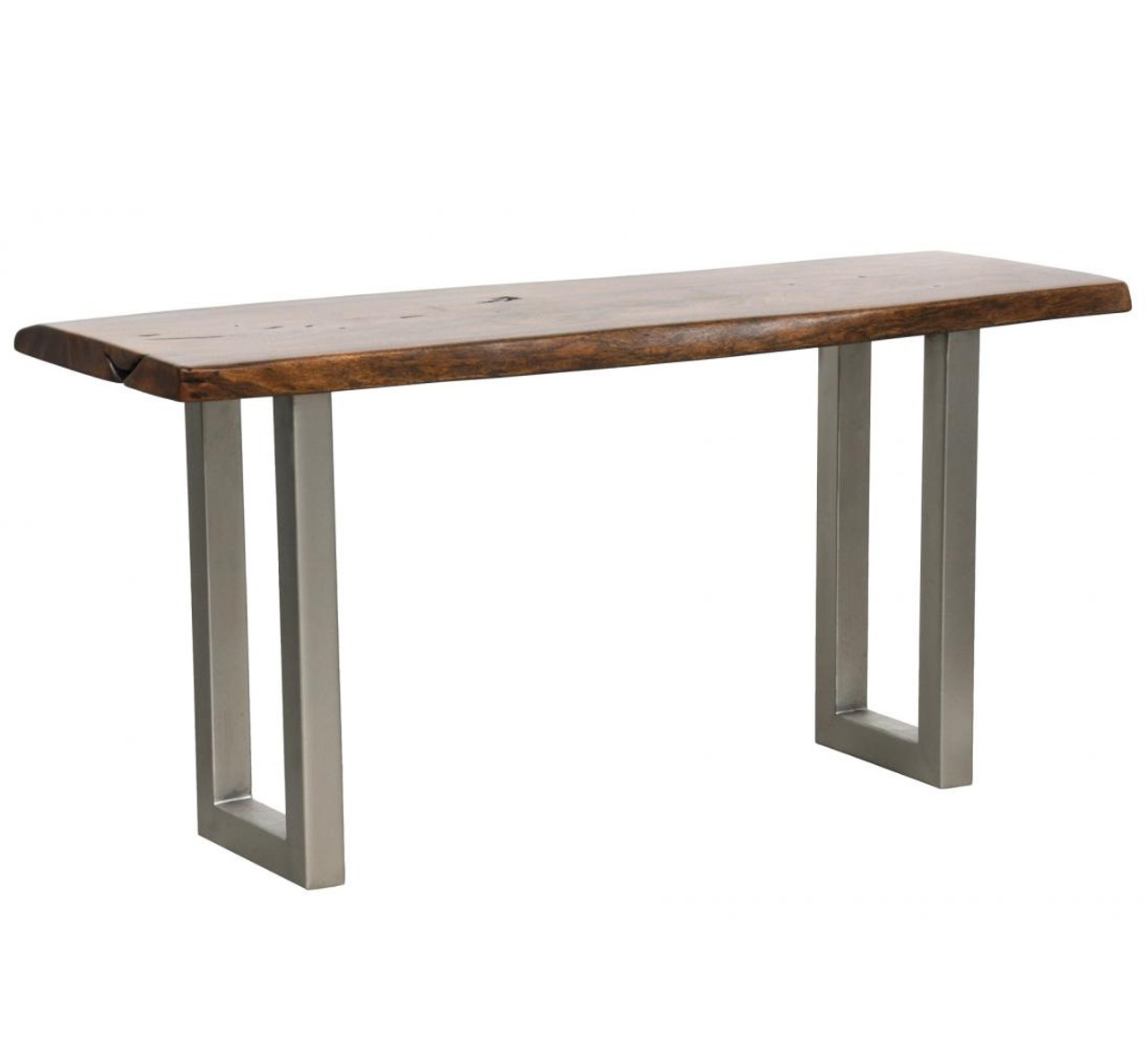 Montana solid wood metal leg console table zin home montana solid wood metal leg console table watchthetrailerfo
