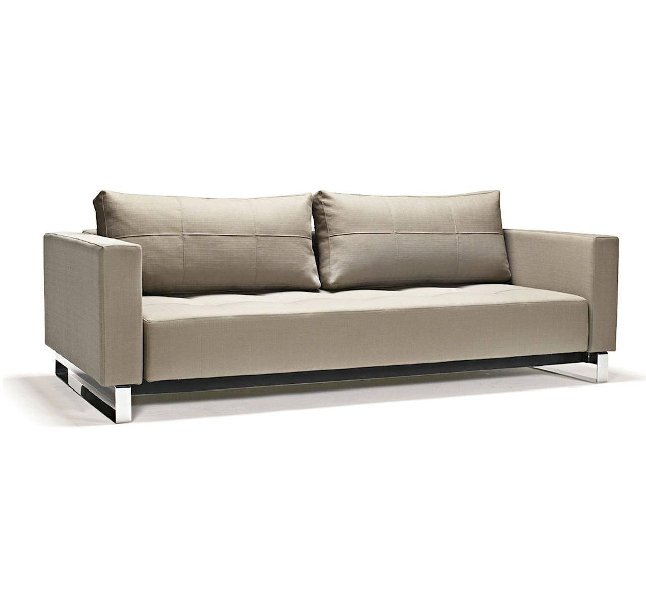 Cassius Deluxe Excess Lounger Sleeper Sofa Bed Queen