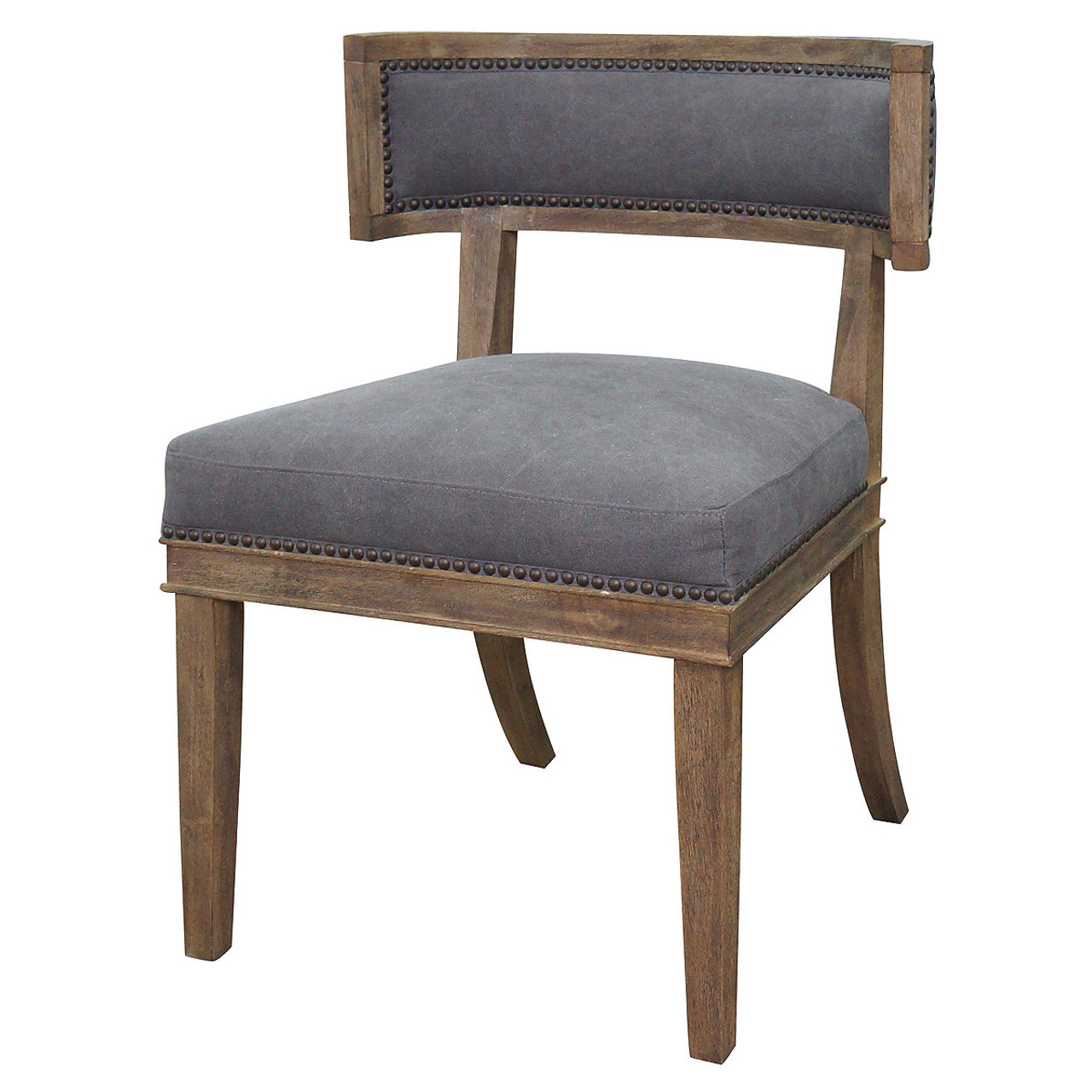 Carter Upholstered Curved Dining Chair  sc 1 st  Zin Home & Carter Upholstered Curved Dining Chair | Zin Home