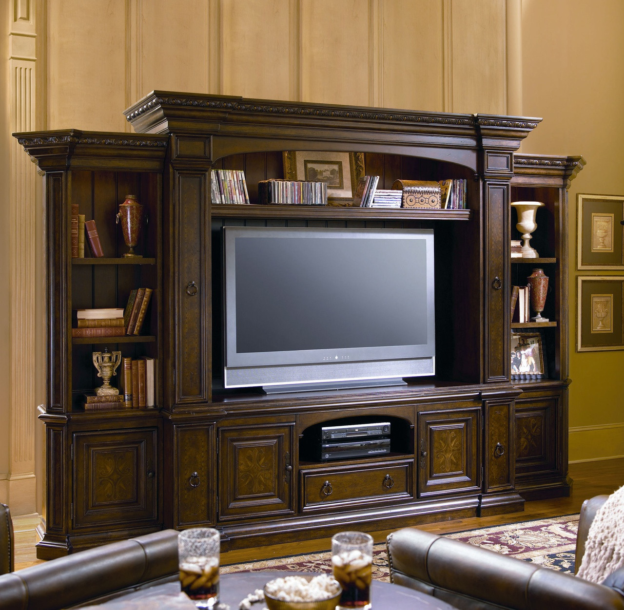 Bolero TV Entertainment Wall Unit