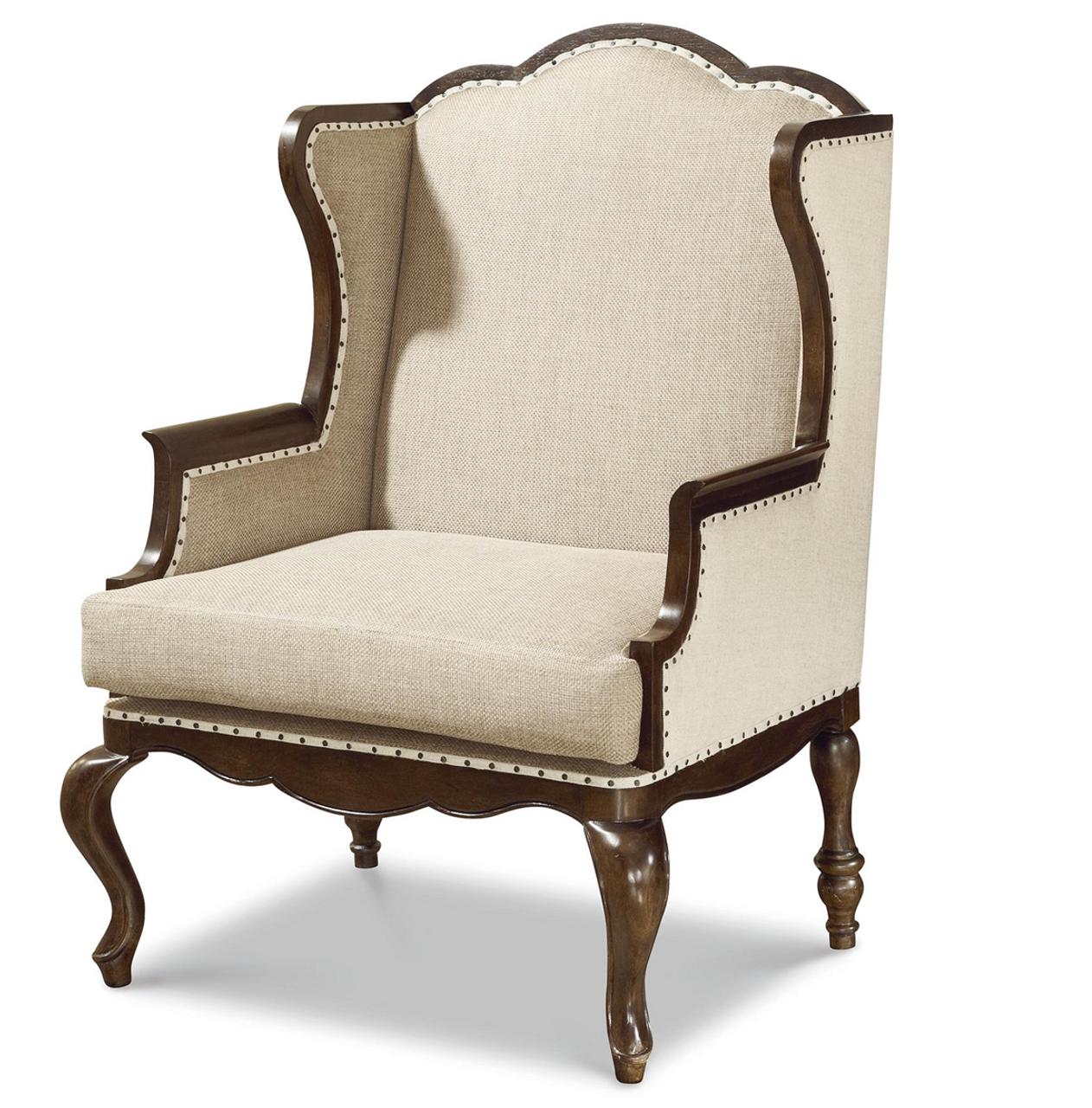 Sonoma Wingback Upholstered Host Hostess Chair