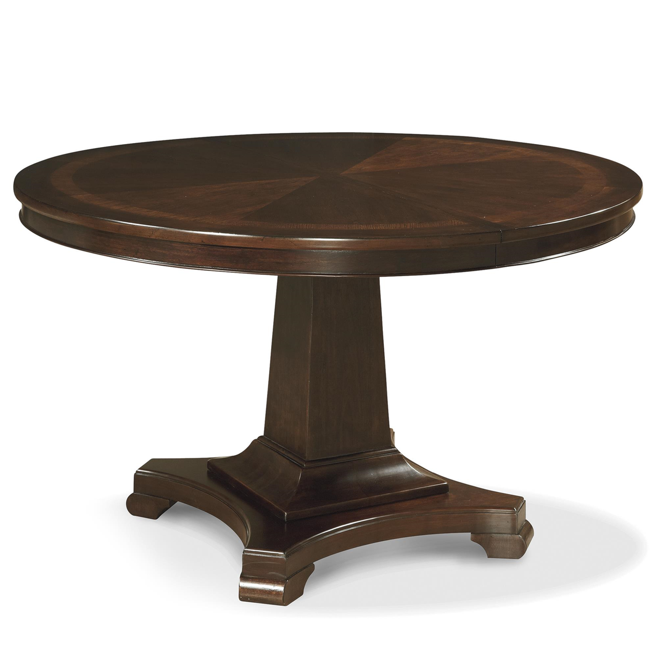 Wood Round Dining Table: Proximity Cherry Wood Extending Round Dining Table 54