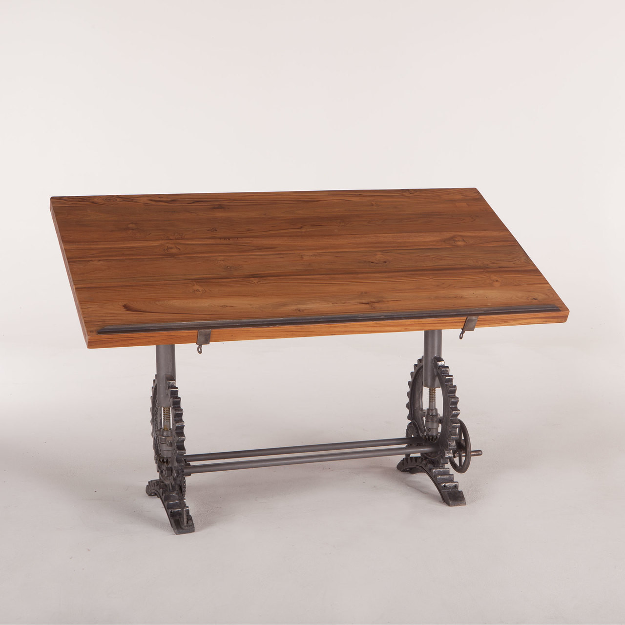 Steampunk Industrial Architect Drafting Table