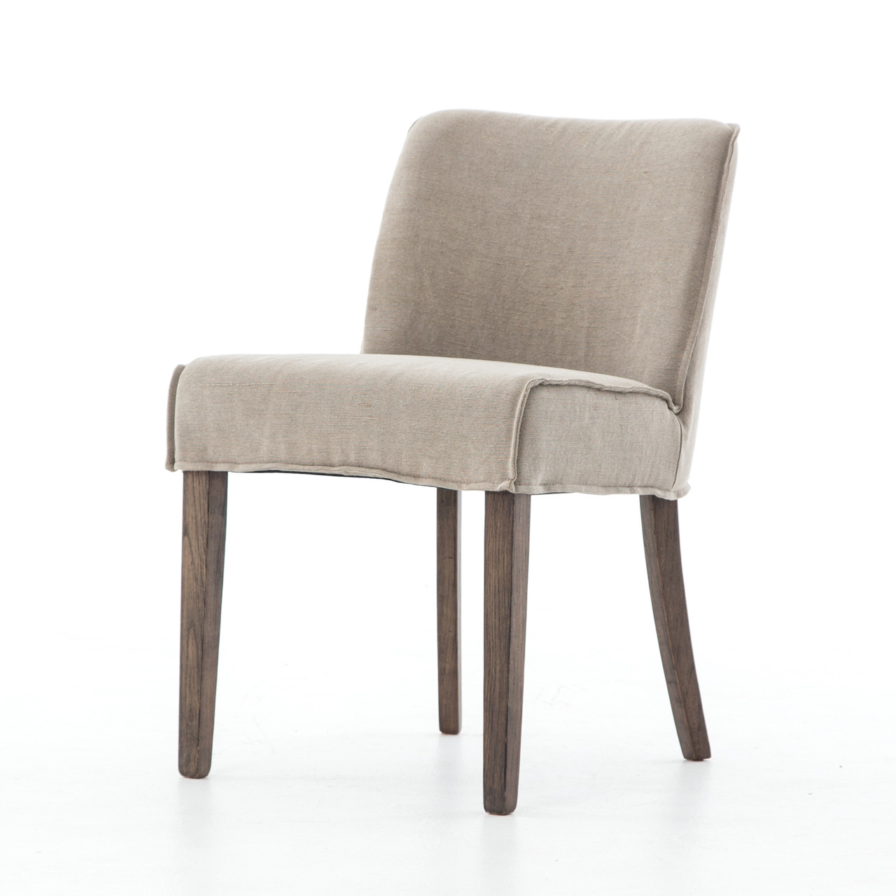 Urban Rustic Upholstered Dining Side Chair