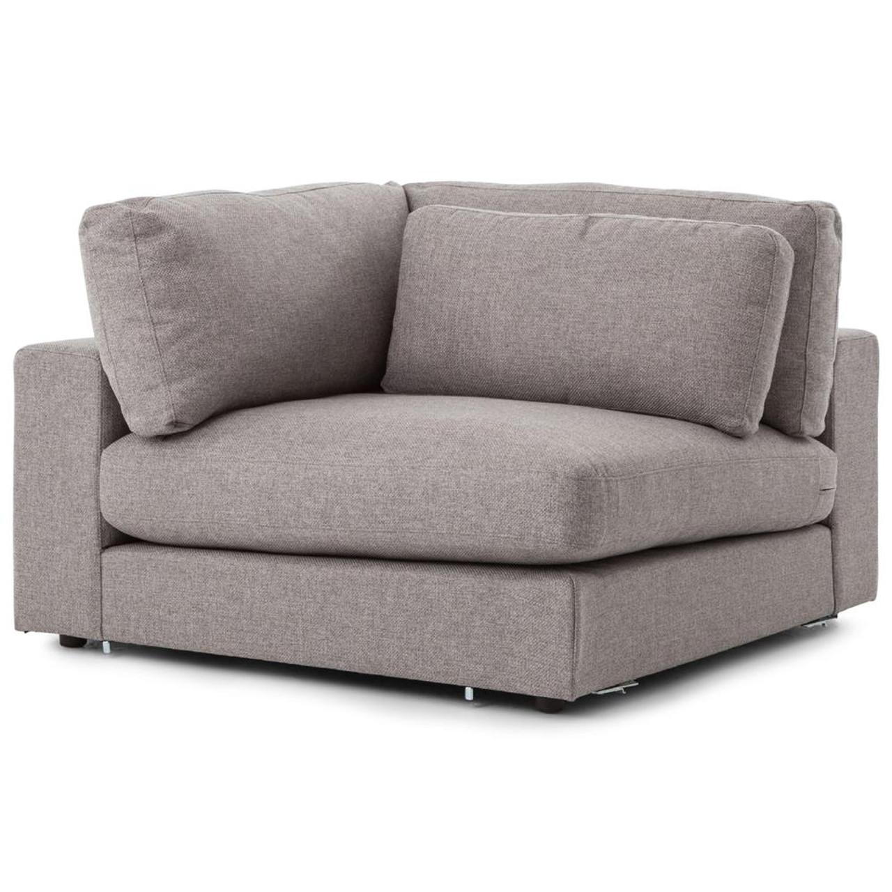 Attrayant Bloor Modern Gray Sectional Corner Piece