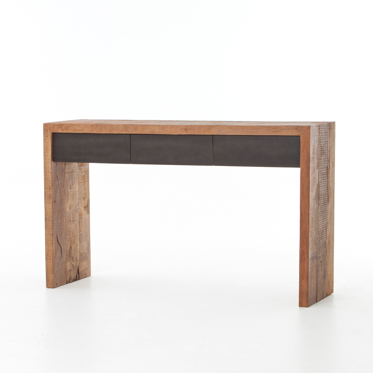 peroba wood furniture. Tylor Reclaimed Peroba Wood 3 Drawer Console Table Furniture R