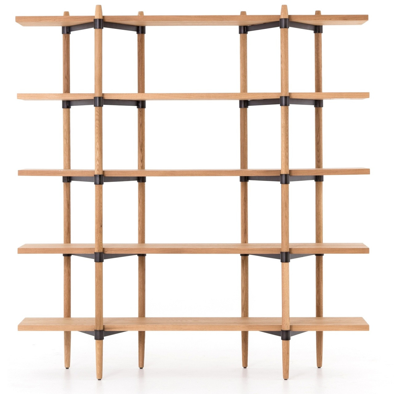 secrets front elizabeth the erika edit angle scandinavian design oak bookshelf interior low brosa bookcase wooden products