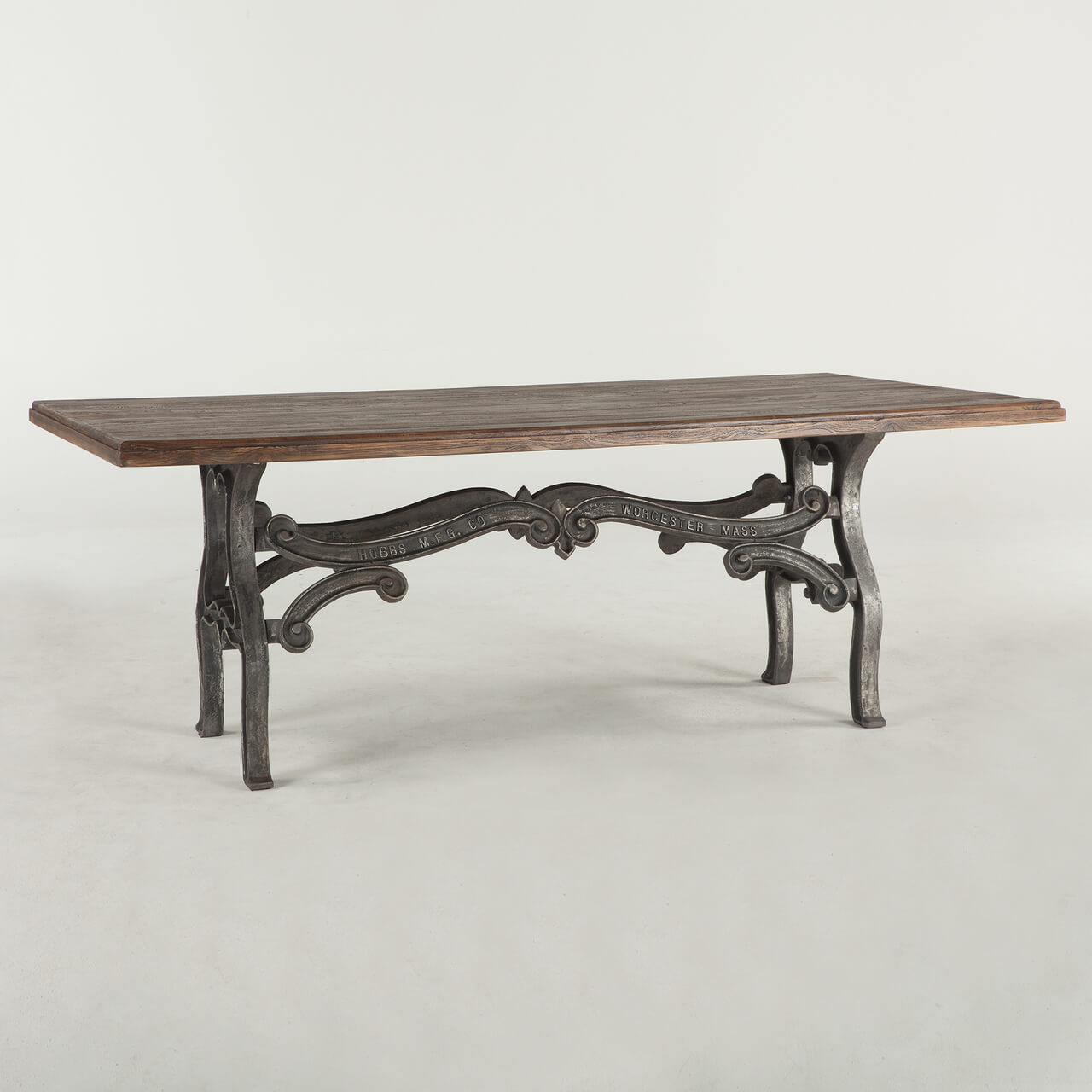 Hobbs French Industrial Dining Room Table 84