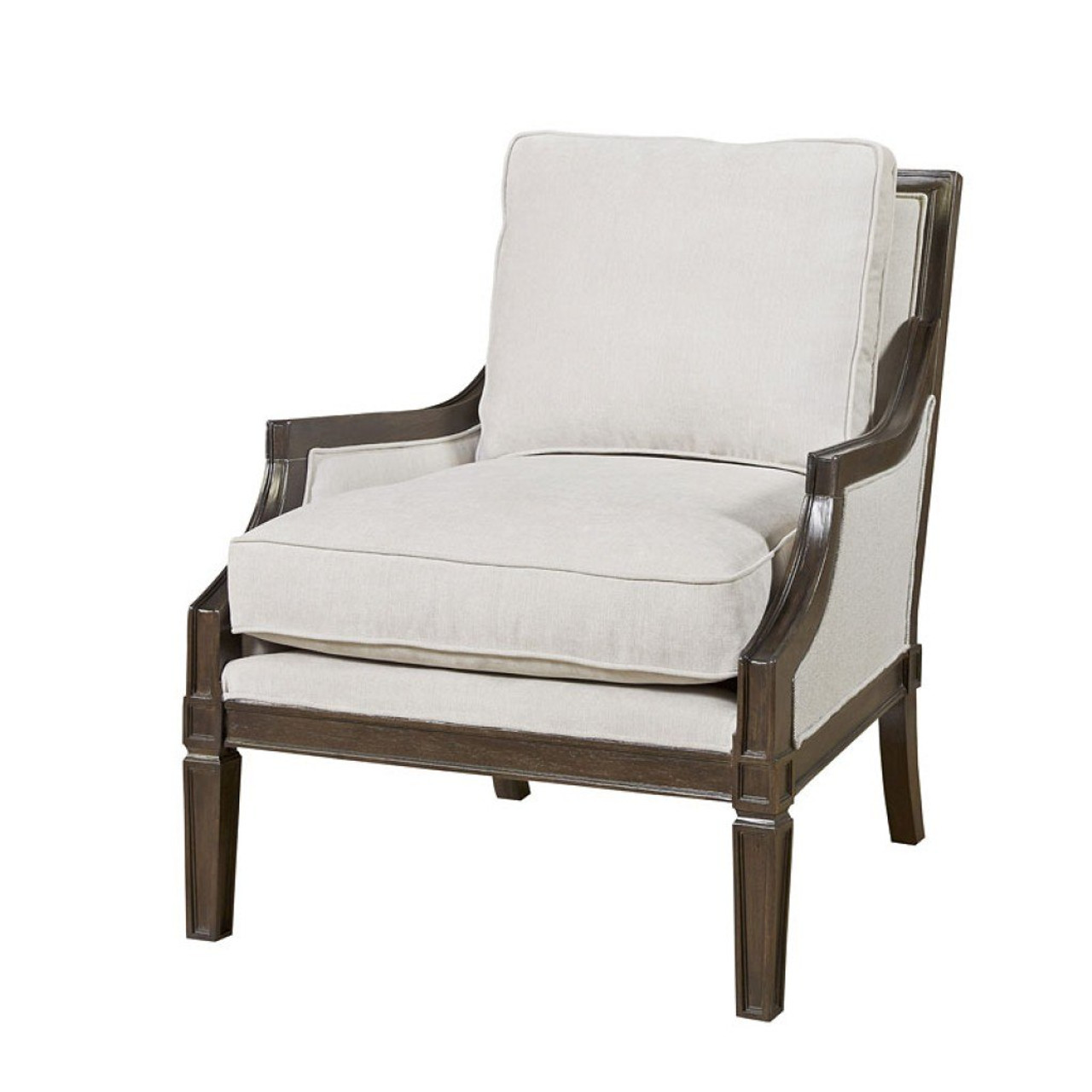 Franklin Exposed Frame Upholstered French Chair