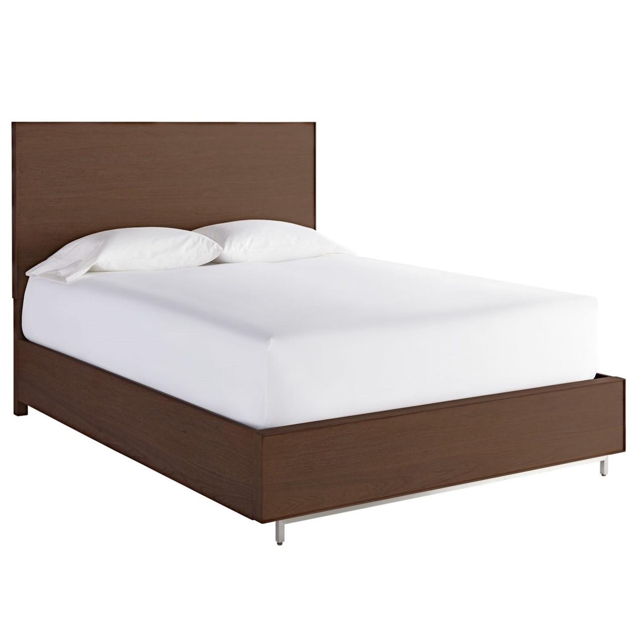 king storage bed modern urban modern walnut king platform storage bed frame zin home