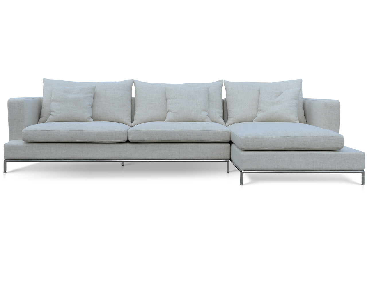 Soho Concept Simena Sectional Sofa CREAM TWEED