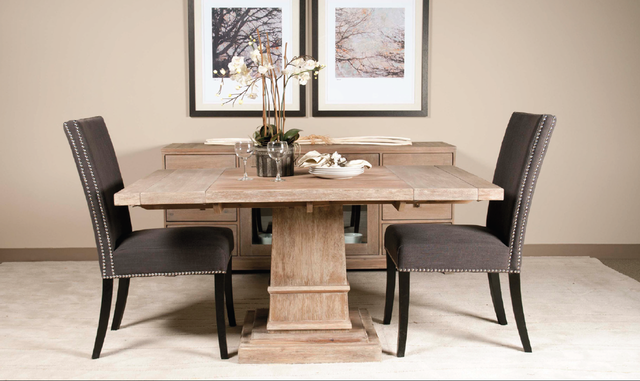 Hudson square ext dining table