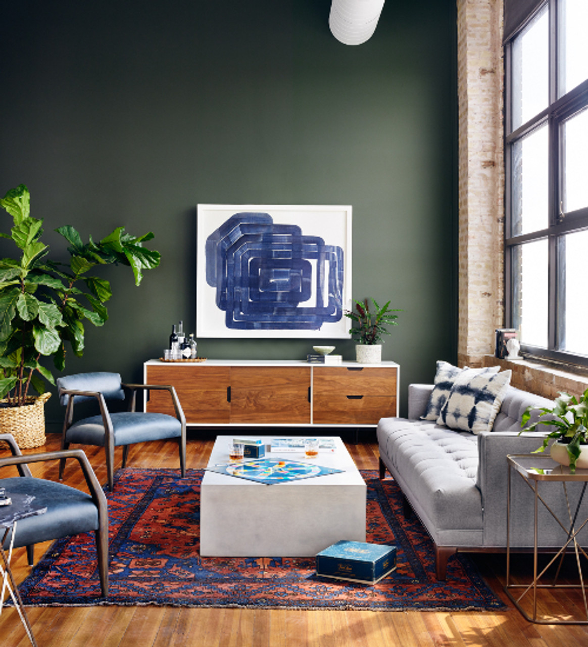 How to Combine Furniture Styles: Modern + Traditional - Zin Home