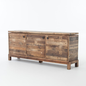 Angora Reclaimed Wood Sideboard Buffet 80""