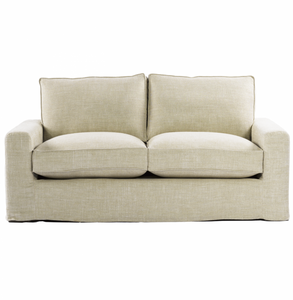 """Casual 70"""" Linen Upholstered Sofa"""