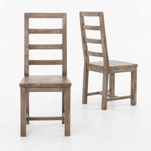 Parsons Dining Chair-Sundried Ash