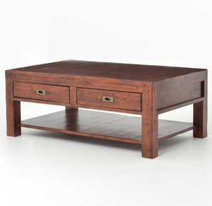 Parsons Coffee Table with 2 Drawers 50''