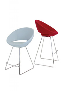 Crescent Wire Counter & Bar Stool