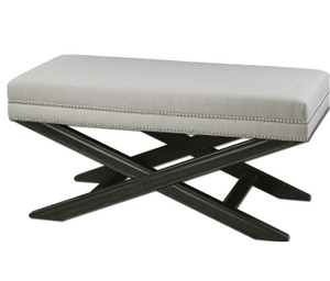 Viera Uplostered Bed End Bench