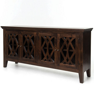 Somerset Solid Wood Large Sideboard-Antique Brown