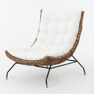 Banana Leaf Woven Alik Accent Chair