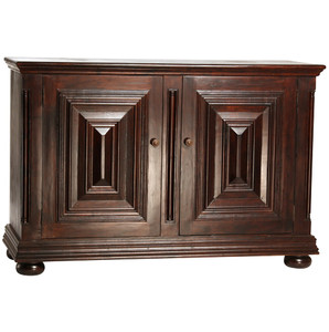 Lido Solid Wood 2 Door Sideboard Cabinet