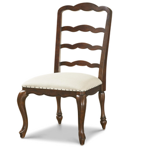 Sonoma Vintage Brown Upholstered Dining Side Chair