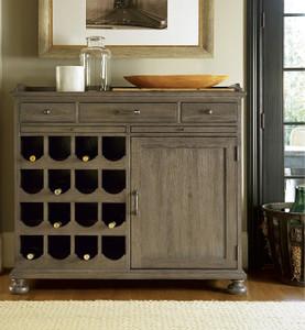 French Oak Small Wine Buffet Cabinet